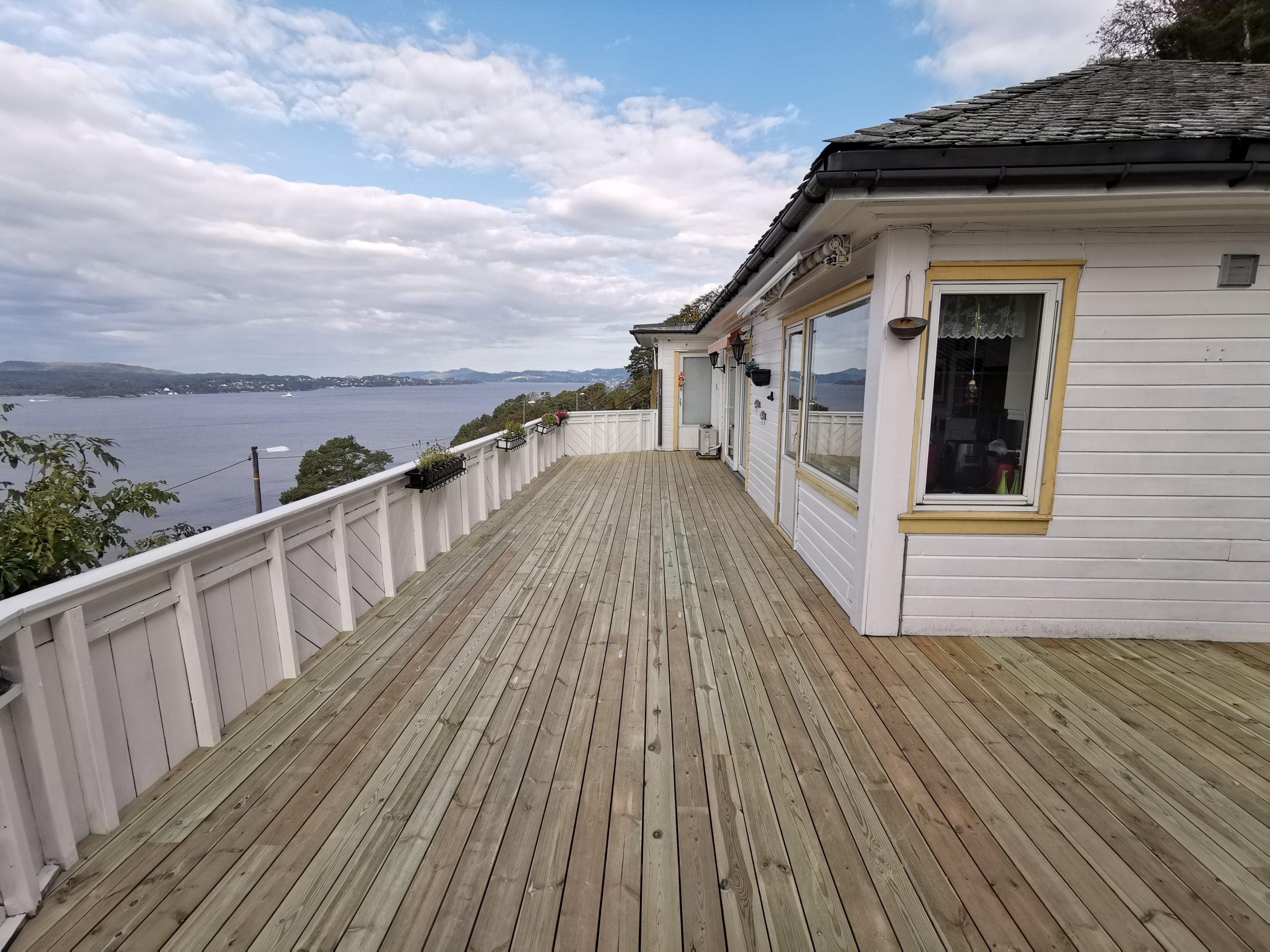 Gjerde, terrasse